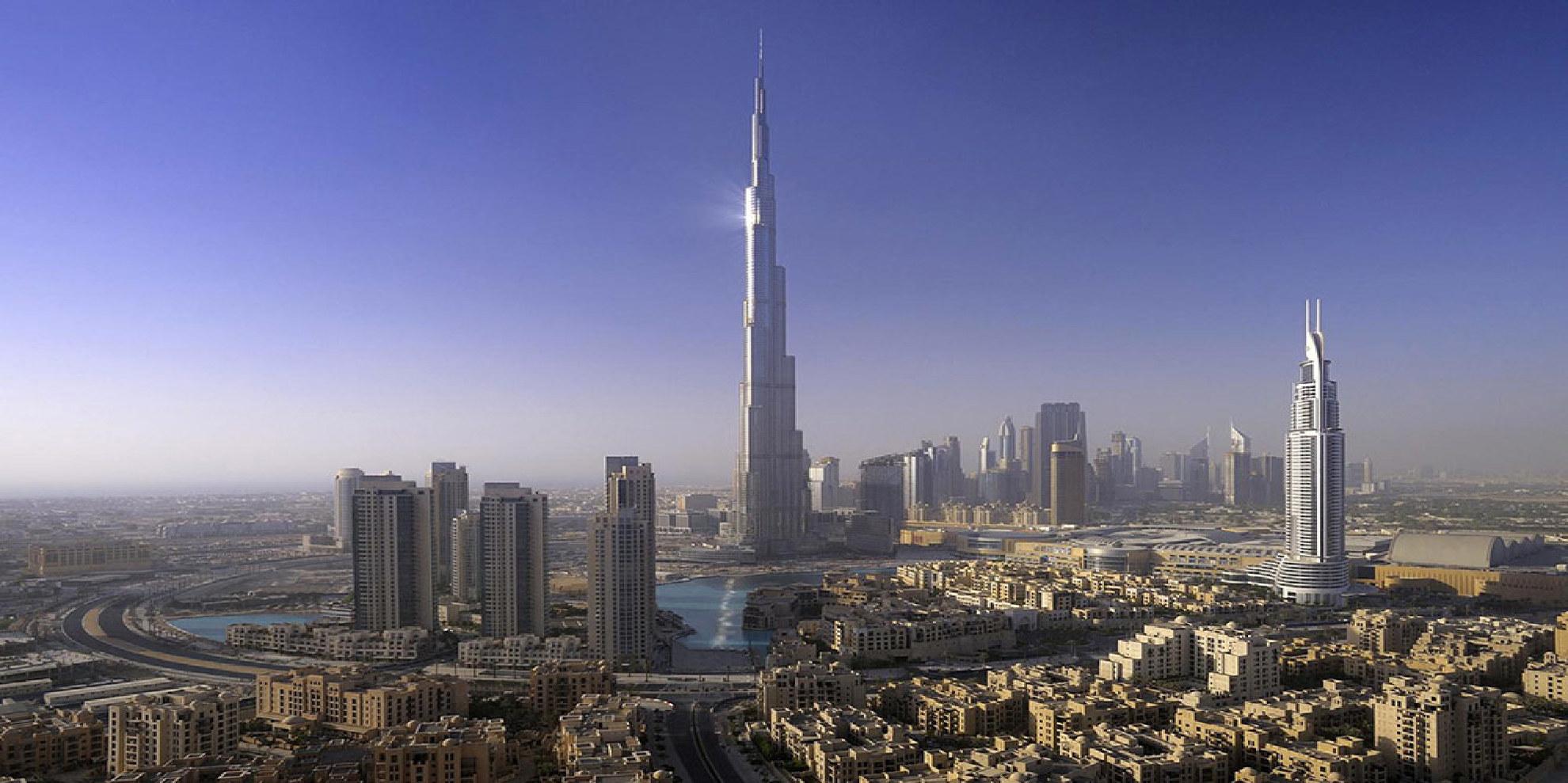 Dubai Tours And Attraction Burj Dubai And Palm Island
