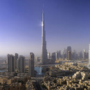 Dubai tours and attraction: Burj Dubai and Palm Island