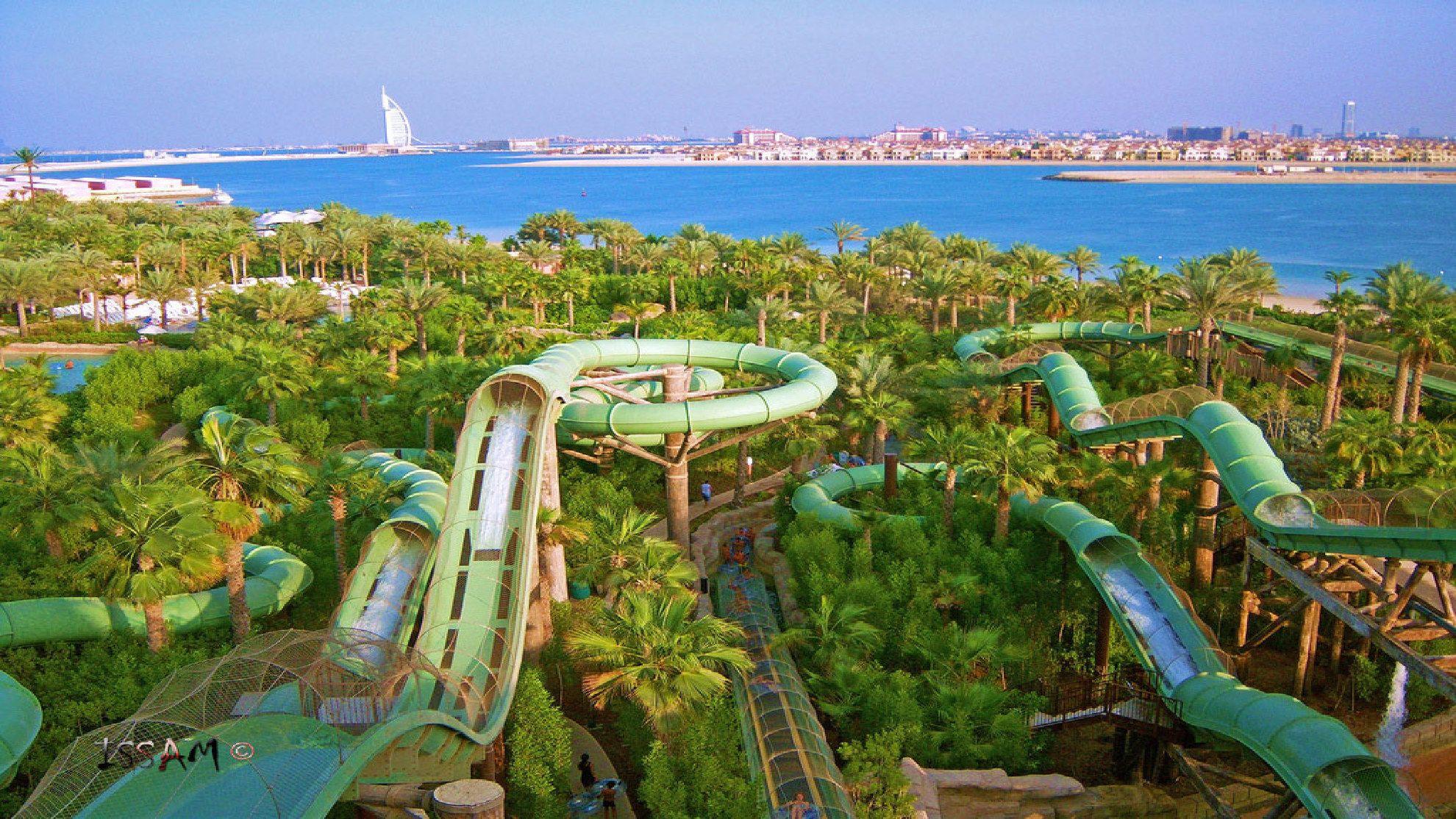 Trip report to Istanbul / Abu Dhabi / Dubai  |Palm Island Dubai From Burj Hotel