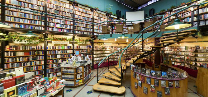 Bookshop architecture the world over