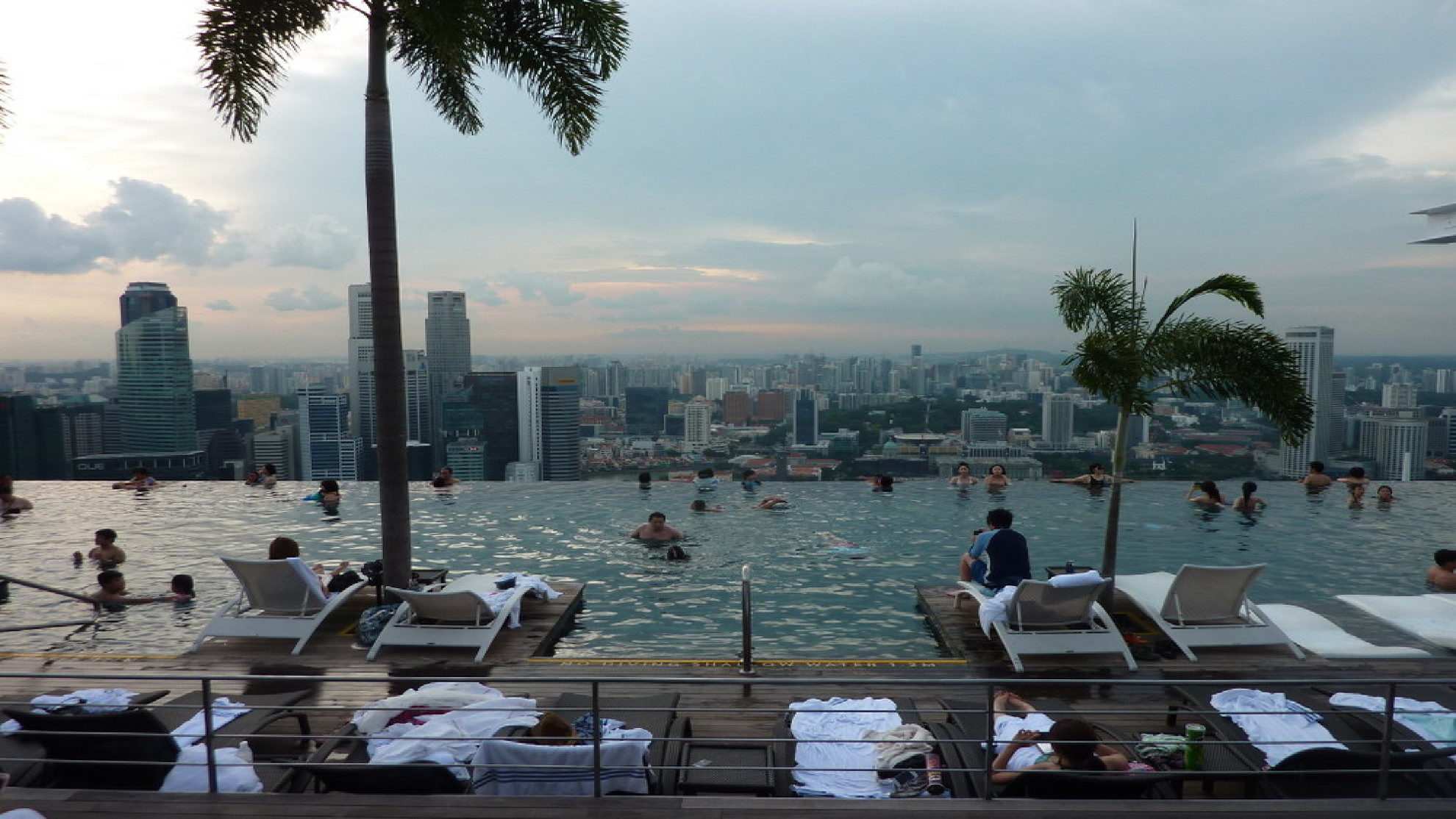 Singapore: the skyline of the garden city designed to be the city of the future