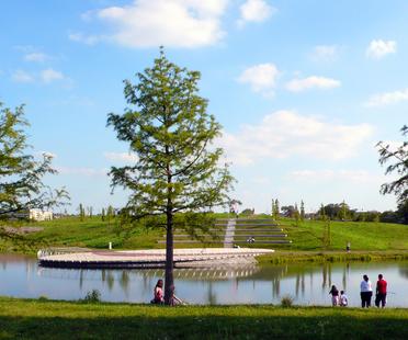 Krupp-Park Essen, urban redevelopment project by Andreas Kipar