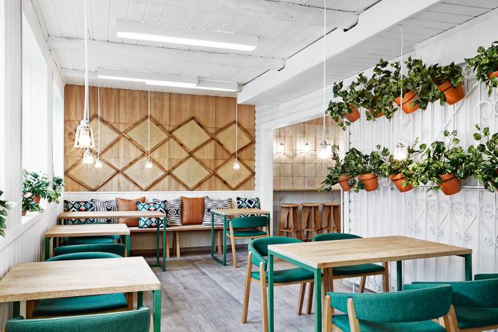 Masquespacio ecofriendly branding and interior design in Oslo