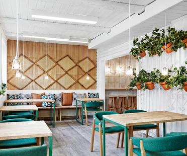 Masquespacio eco-friendly branding and interior design in Oslo