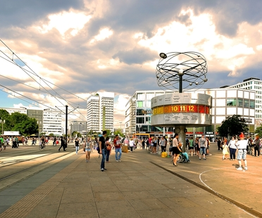 Livegreenblog in Berlin Alexanderplatz