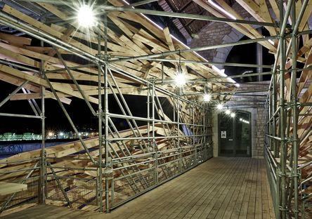 Vortex, light sculpture and installation by 1024 architecture