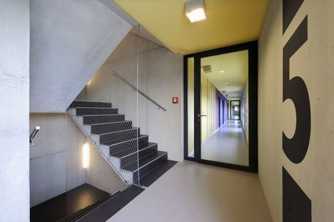 K I S S apartment building in Zurich by Camenzind Evolution