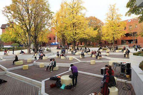 Marronnier Park in Seoul, Korea by METAA architects