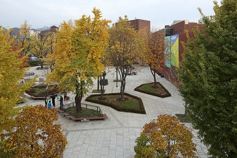 Marronnier Park in Seoul, Korea by METAA architects