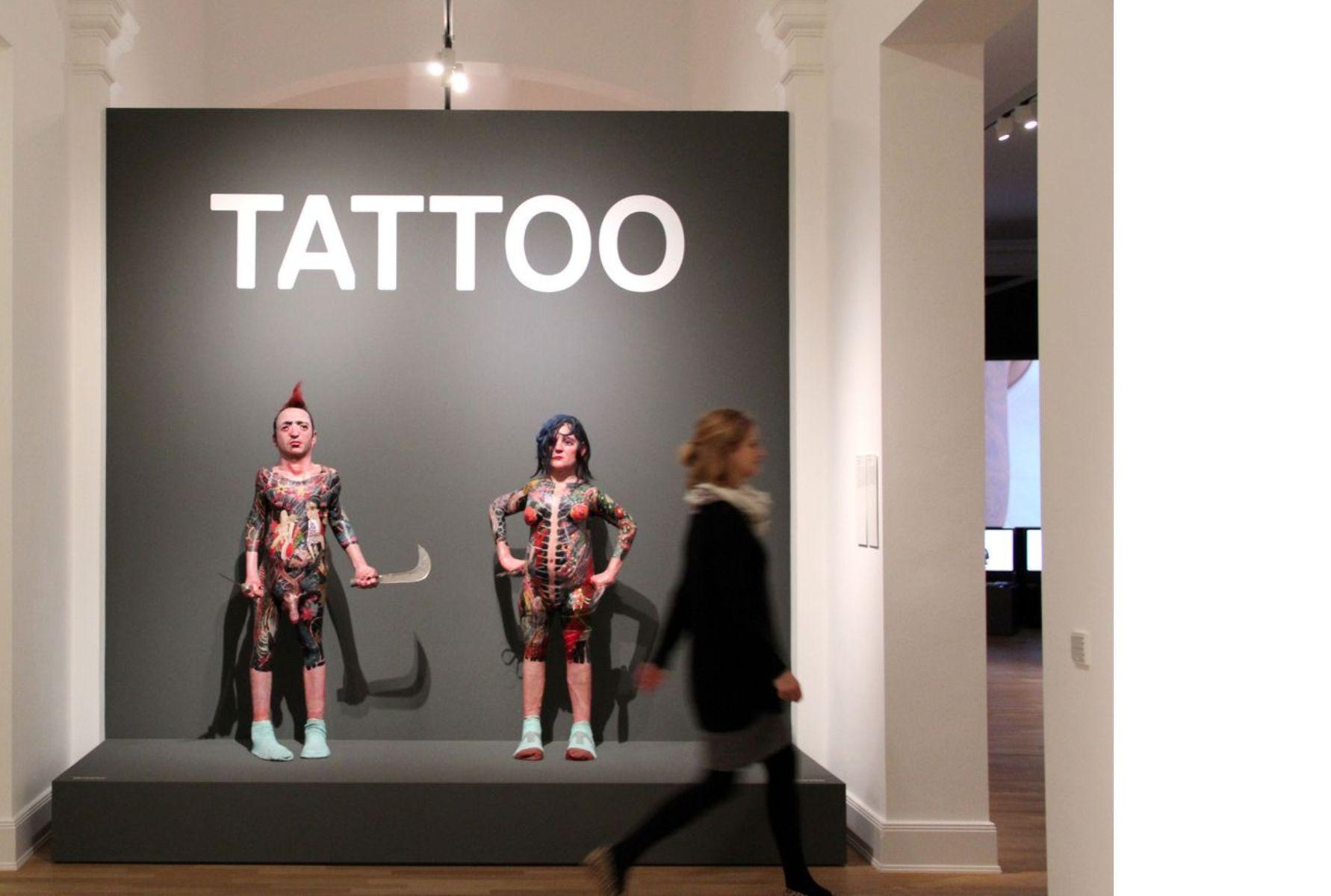 9c6e862f9 Tattoo exhibition at the Museum fuer Kunst und Gewerbe Hamburg ...