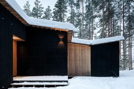 Kettukallio, a lakeside cabin in Finland