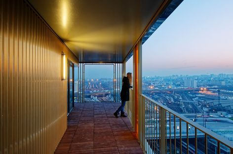 HOME, vertical residential complex in Paris