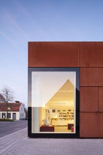 Refurbishment of the City Library in Bruges by Studio Farris
