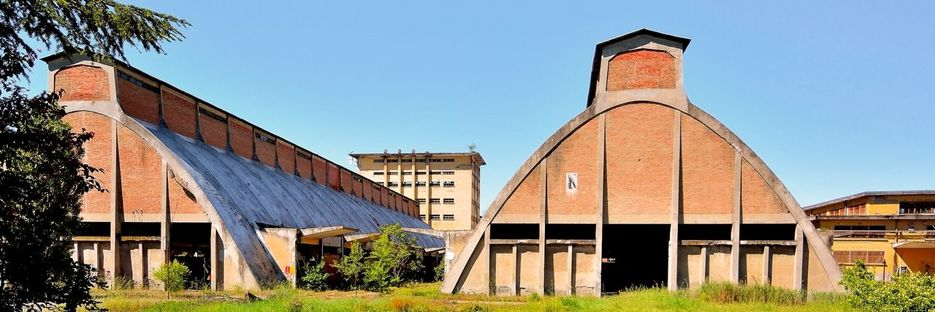 Pier Luigi Nervi and the salt warehouses in Tortona