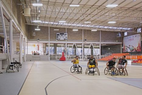 A gym for everyone. Adapted Gym by Urbánika, Mexico