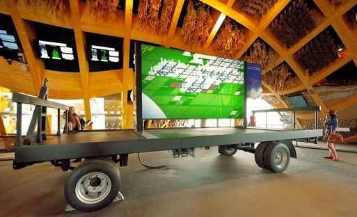 Livegreenblog in the French pavilion at Expo Milano 2015