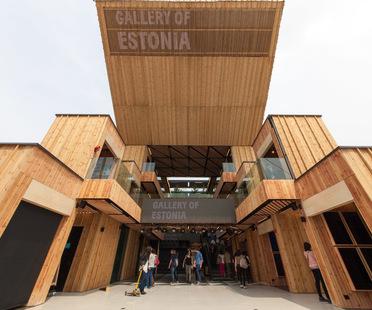 Livegreenblog at Expo Milano 2015, Gallery of Estonia