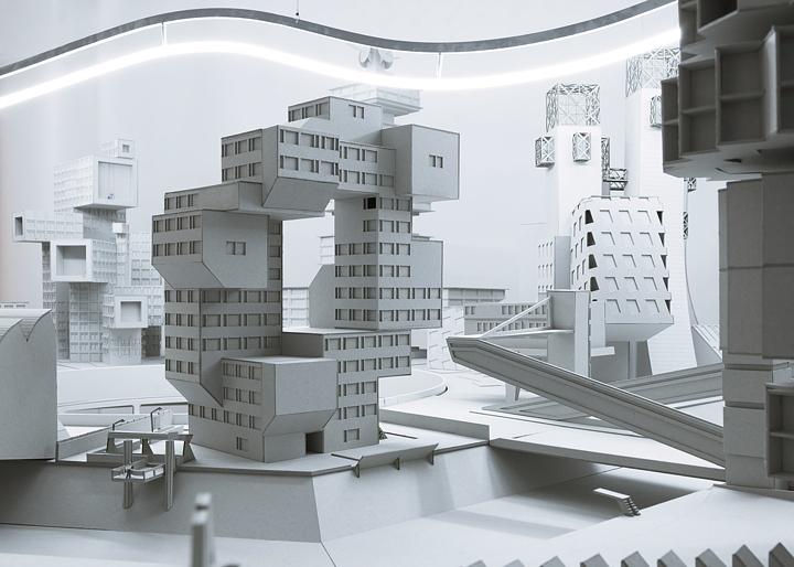 Architecture u eu eu e bureau par most architecture journal du design