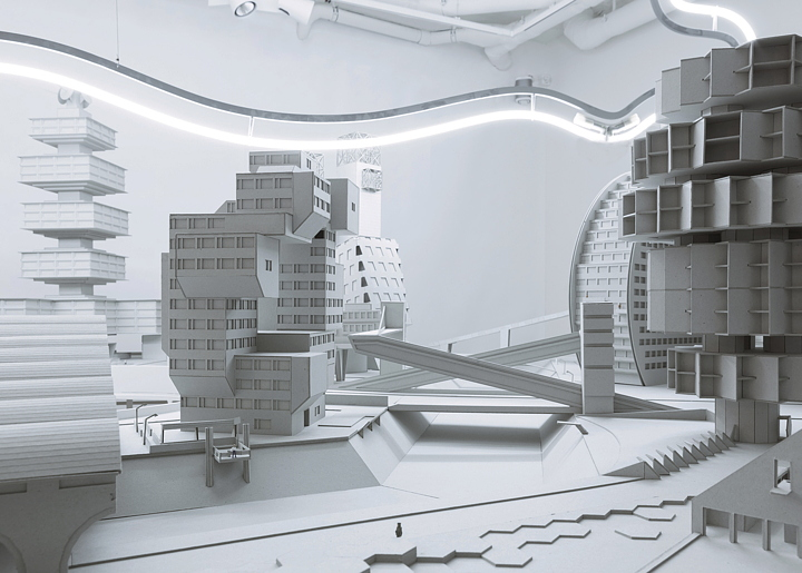Bureau A Architecture : Architectural bureau wall · vdnh pavilion · divisare