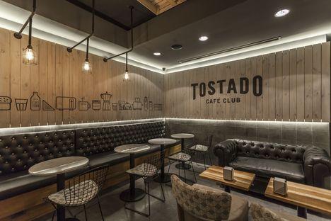 Hitzig Militello Arquitectos and the Tostado Café Club