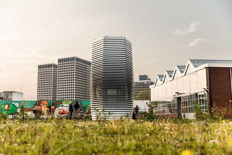 Smog Free Project by Studio Roosegaarde in Rotterdam