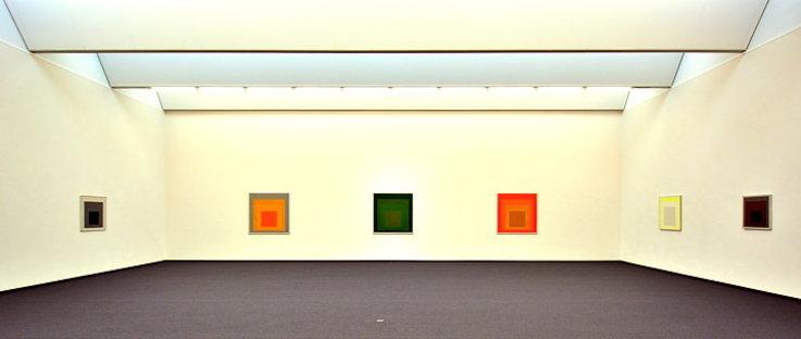 Homage to Josef Albers. Quadrat museum in Bottrop