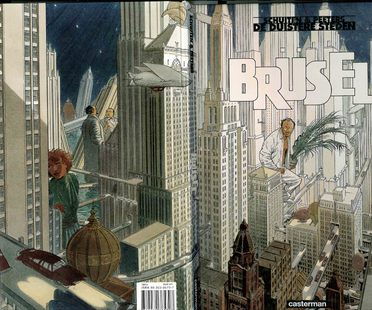 Comics in architecture, architecture in comics.
