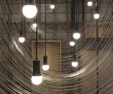 The Noodle Rack, appetising interior by Lukstudio