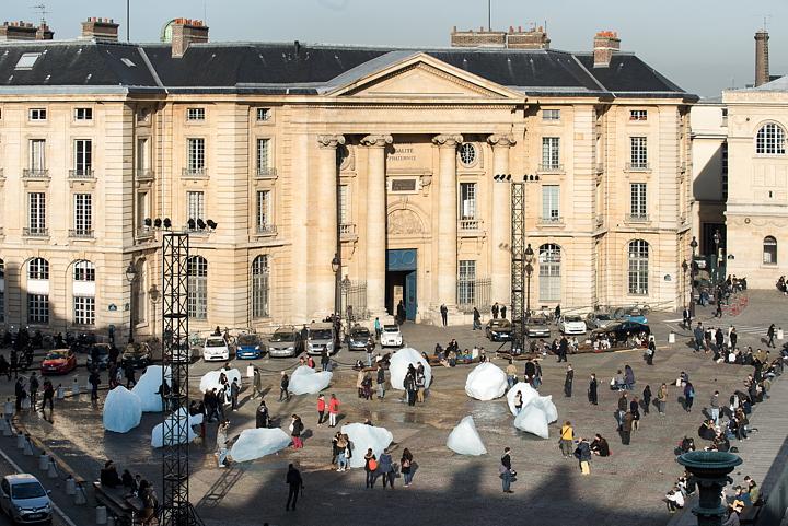 Ice Watch Paris by Olafur Eliasson for Paris COP21  Livegreenblog