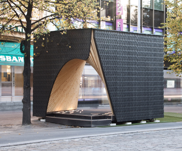 Pauhu, pavilion for Tampere Architecture Week