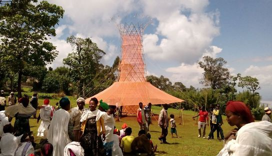 Warka Water for sustainably harvesting water