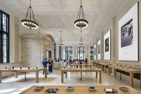 Apple Store upper east side Bohlin Cywinski Jackson
