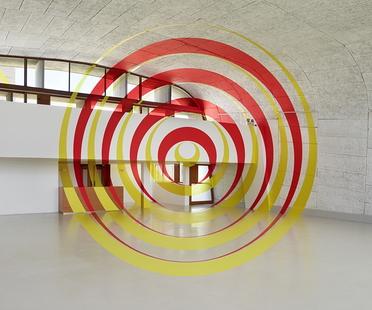 Exhibition À ciel ouvert by Felice Varini, MAMO