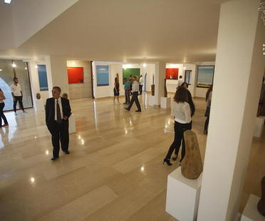 First anniversary of the Jamil Molaeb Museum, Lebanon