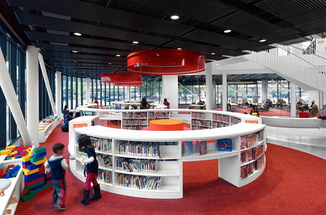 Chicago Public Library, Chinatown Branch by SOM