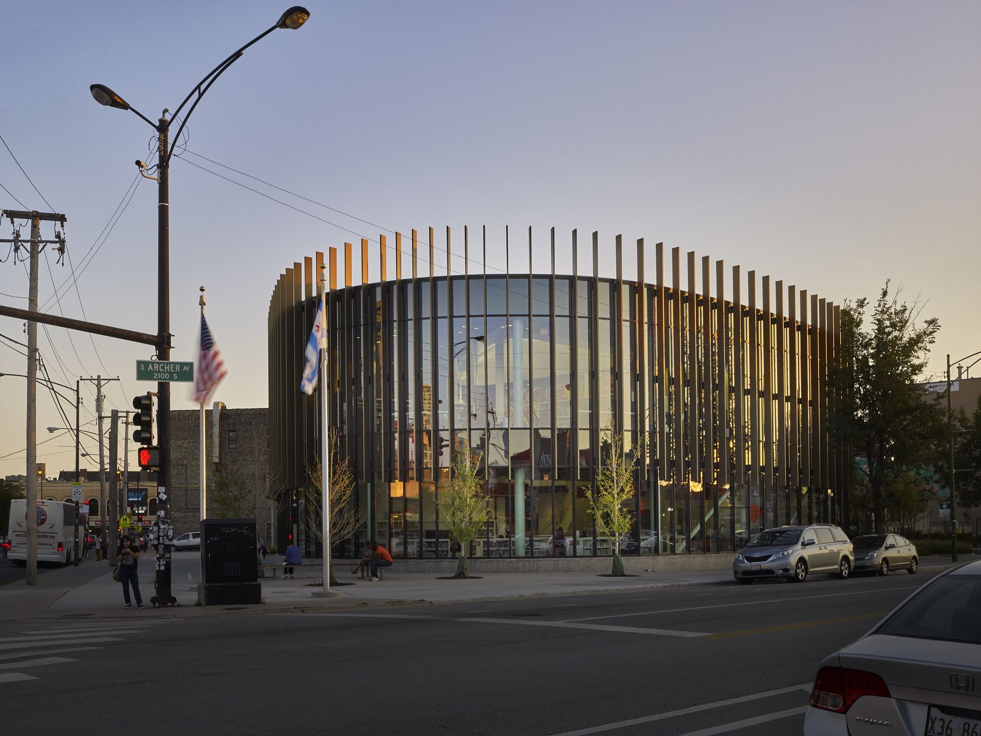 Chicago Public Library Chinatown Branch By Som Livegreenblog