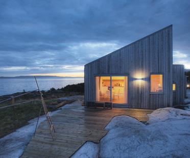 TYIN Tegnestue, K21 Skardsøya, a sustainable cottage in Norway