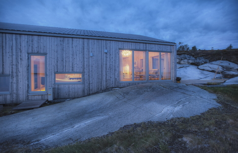 TYIN Tegnestue, K21 Skardsøya, a sustainable cottage in Norway