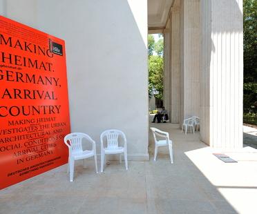 2016 Biennale 2016, the German pavilion is being restored