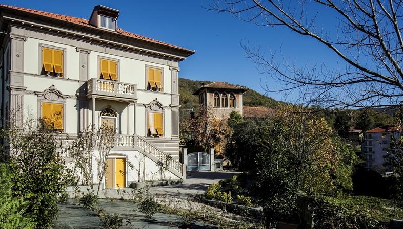 Sustainable renovation of a villa in Liguria