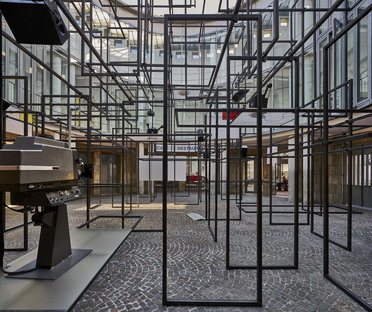 Rosa Barba. Blind Volumes at the Schirn Kunsthalle
