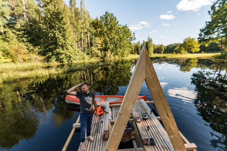 Estonia, floating structures respond to environmental needs