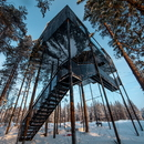 Extension of the Treehotel in Sweden, 7th room by Snøhetta