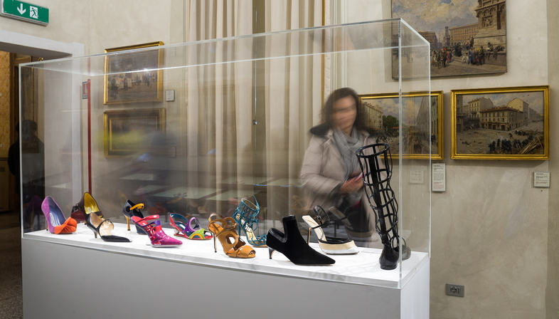 Mostra Manolo Blahnik. The Art of Shoes in Milan