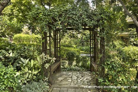 the enchanted garden of nai lert park in bangkok - Enchanted Garden