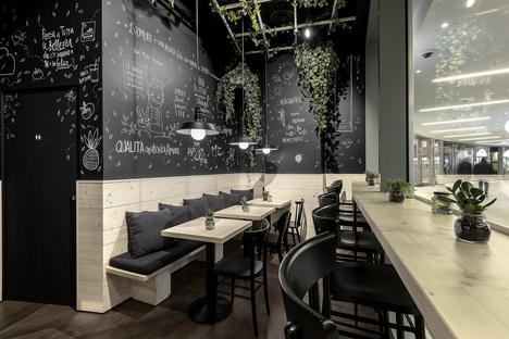 That's Vapore. Interior design by Alchemia Studio