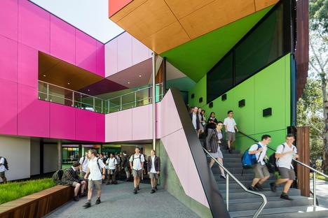 A school that is all about colour by McBride Charles Ryan