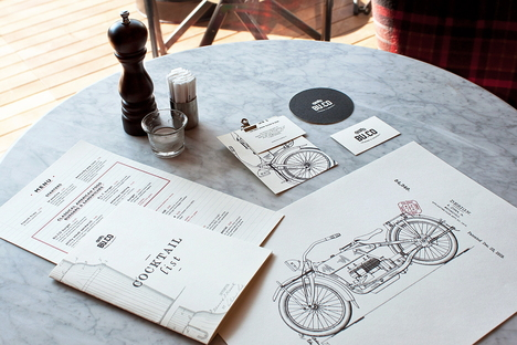 Visual Display designs BU.CO, a restaurant in Udine