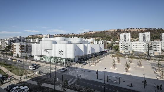 Jean-Pierre Lott has designed the new media library of Vitrolles