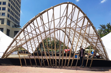 Hyperbamboo, a sustainable landmark at the CAMBOO Festival